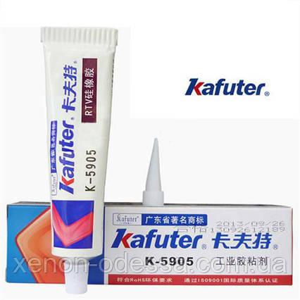 Бесцветный клей-герметик многоцелевого назначения KAFUTER 5905, фото 2