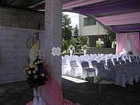 ТМ Артфлорис предлагает оформление праздников тканями, живыми цветами, воздушными шарами