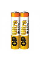 Батарейка GP ULTRA ALKALINE, 24AUEBCHM-2S2 LR03, ААА (2шт сп.), Аккумуляторы и батарейки, Акумулятори та батарейки, Батарейка GP ULTRA ALKALINE,