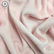Велюр х/б розовый, ширина 180 см