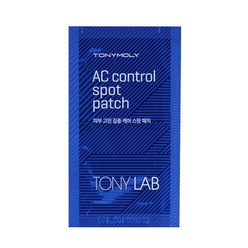 Пластырь для точечной борьбы с акне Tony Moly Lab AC Control Spot Patch