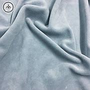 Велюр х/б серый, ширина 180 см