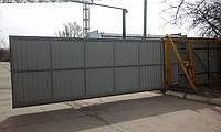 Ворота откатные автоматические  4 метра