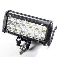 Дополнительные светодиодные противотуманные LED фары (1шт) 10-30V D 36W 167*100*65мм дальнего света  LED-фары