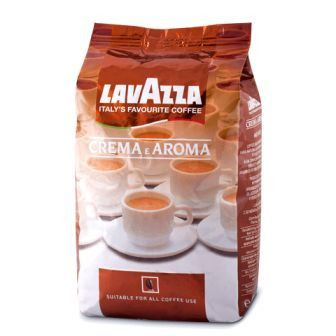 Кава Lavazza Crema е Aroma - 1 кг (зерно)