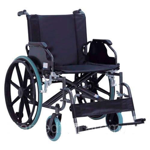 Инвалидная коляска стальная усиленная Норма-Трейд KY951В - 56