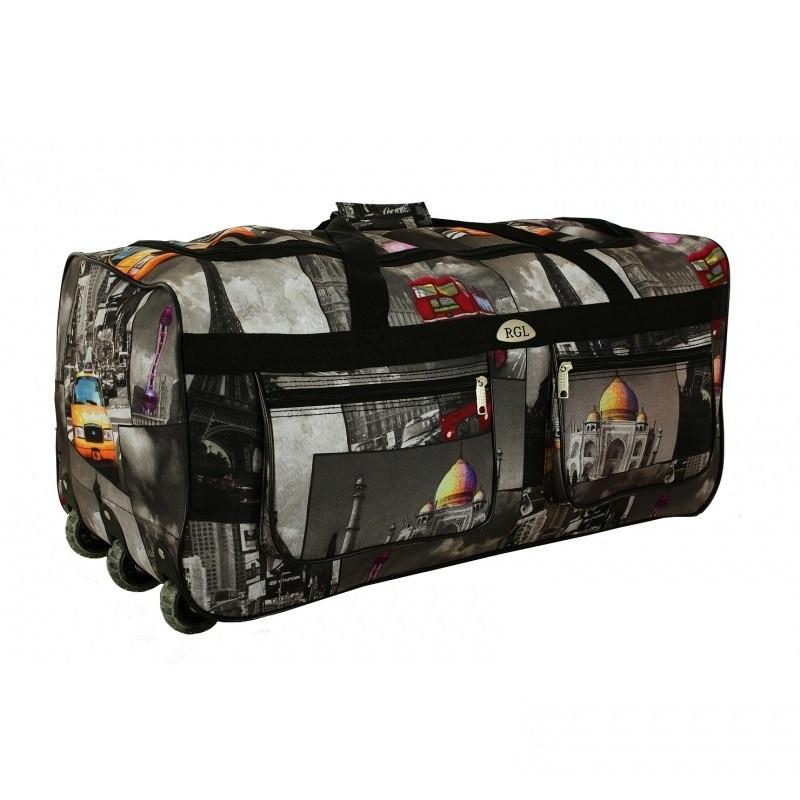Дорожная сумка на колесах RGL A3 небольшая, 64 л City