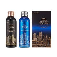 Набор для ухода за мужской кожей EUNYUL Real Power All In One Skin Care set 200+200 мл (8809435403491)