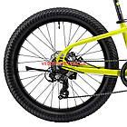 Подростковый велосипед Cyclone Ultima 3.0 24 дюйма зеленый, фото 5