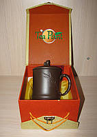 "Чашка глиняная ""Бамбук"" 350 мл (исинская глина), фото 1"