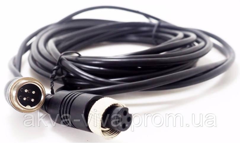 4Pin кабель с фиксаторной гайкой, авиационный разъем