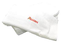 Рушники з логотипом, вышивка на полотенцах
