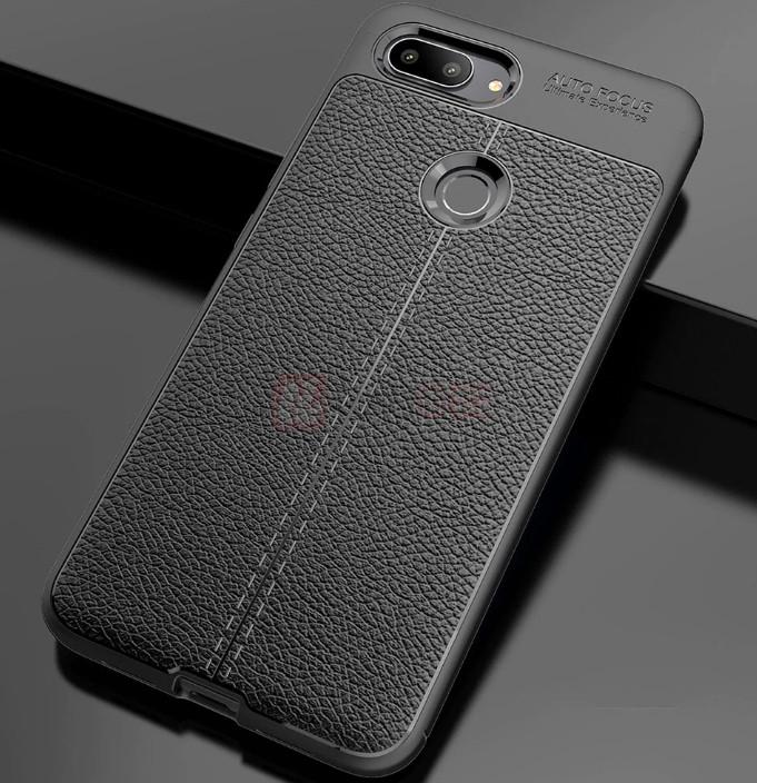 Защитный чехол-накладка под кожу для Xiaomi Mi 8 Lite
