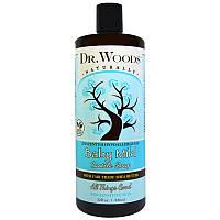 """Детское кастильское мыло Dr. Woods """"Baby Mild Castile Soap"""" для чувствительной кожи, без запаха (946 мл)"""