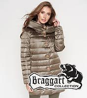 Воздуховик демисезонный женский Braggart Angel's Woman - 35120N капучино