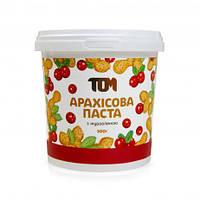 ТОМ Арахисовая паста с клюквой 500 грамм