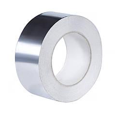 Скотч фольгированный алюминиевый 48мм х 25м