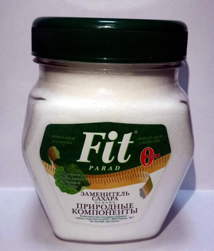 Фит Парад  №7 (180 г) - вкусный и полезный заменитель сахара при диете Дюкана, ожирении и диабете