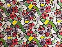 Самоклеющаяся пленка (витражная) 90см. арт. 025