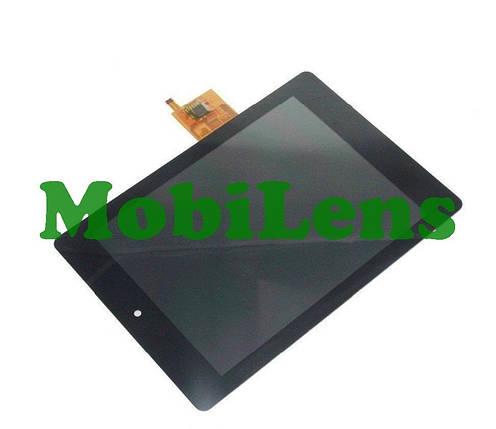Acer A1-810, Iconia Tab Дисплей+тачскрин(модуль) черный, фото 2