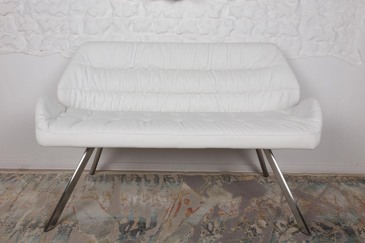 Кресло - банкетка TENERIFE (Тенерифе) белая от Niсolas, экокожа