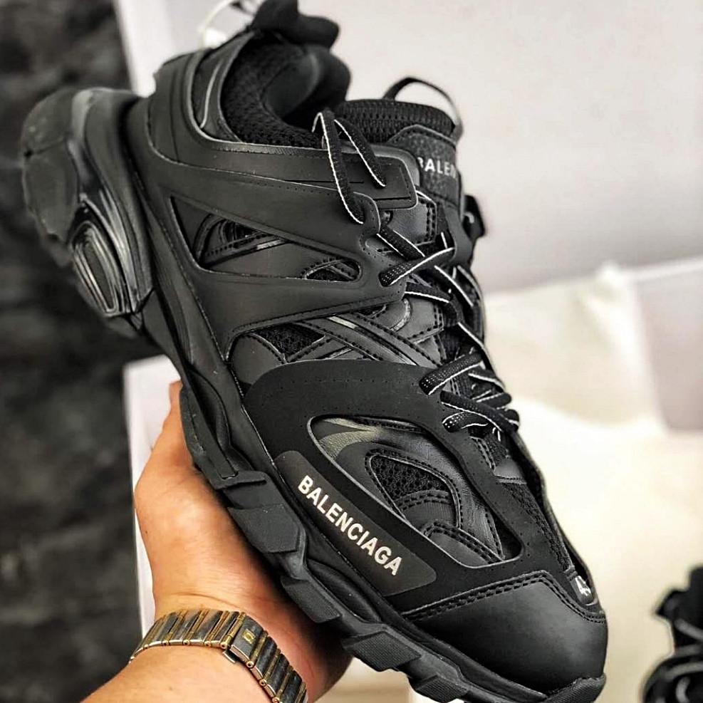 Мужские кроссовки в стиле Balenciaga Track Trainers All Black