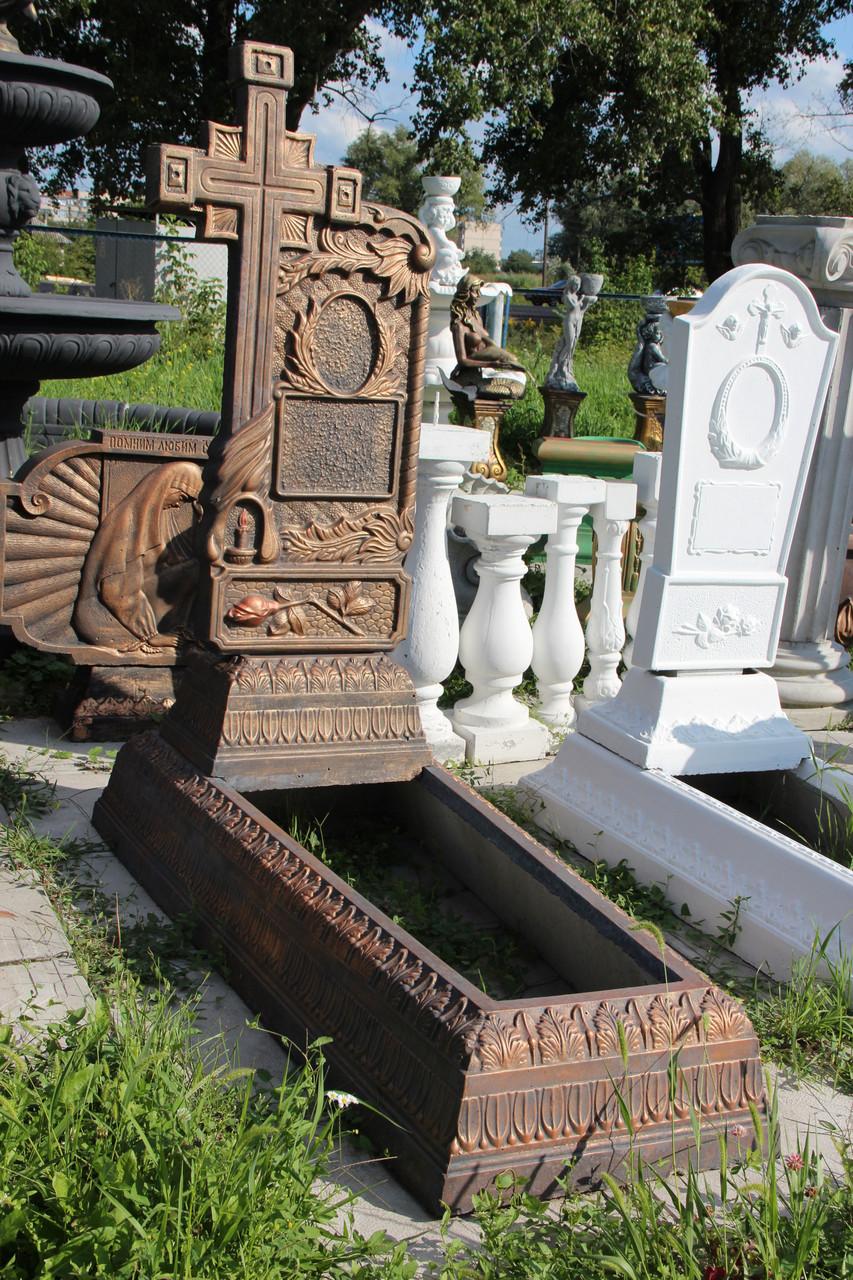 надгробие из бетона купить