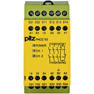 774311 реле захисту PILZ PNOZ X3 42VAC 24VDC 3n/o 1n/c 1so