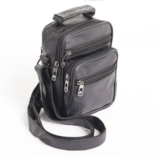 fc9742a6e87c Мужская черная сумка BagHouse 14х18х10 вертикальная, кожа КС0418: продажа,  цена в Киеве. мужские сумки и барсетки от