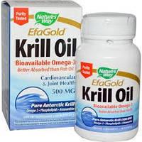Жир (масло) криля Nature's Way 500 мг 30 капсул