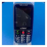 Мобільний телефон Sigma Comfort 50 Elegance Black *