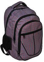 Эргономичный городской рюкзак на три отделения PASO 28L, 15-3538