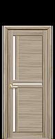 Межкомнатные двери Тринити со стеклом сатин