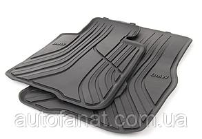 Оригинальные передние коврики салона BMW 4 (F32) (51472348155)