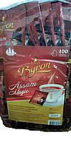 Чай Lord Byron (Лорд Байрон) черный Assam 100 пакетов конверт