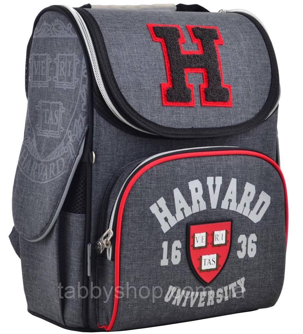 """Ранець шкільний ортопедичний каркасний """"1 Вересня"""" H-11 Harvard"""
