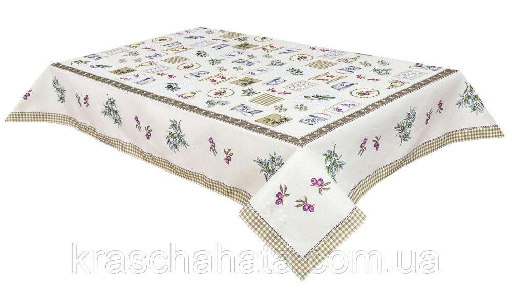 Скатерть гобеленовая, 137х180 см, Эксклюзивные подарки, Столовый текстиль