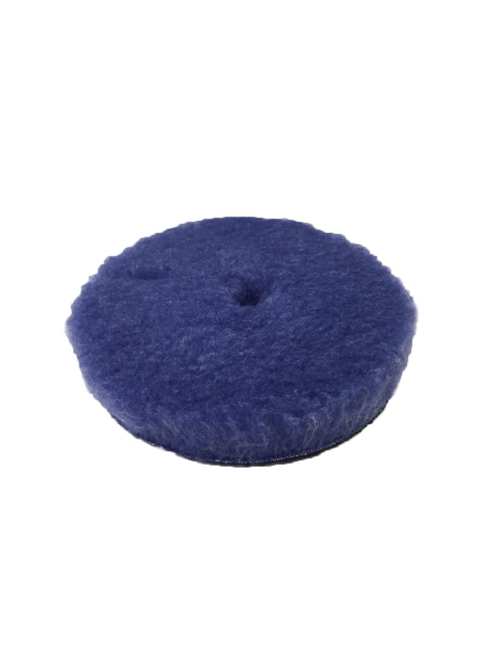 Полировальный круг гибридная шерсть - Lake Country Blue Hybrid Wool 125 мм. (HYB-133)