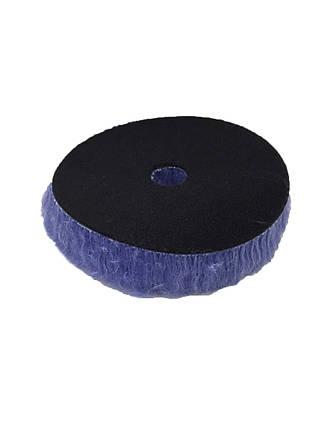 Полировальный круг гибридная шерсть - Lake Country Blue Hybrid Wool 125 мм. (HYB-133), фото 2