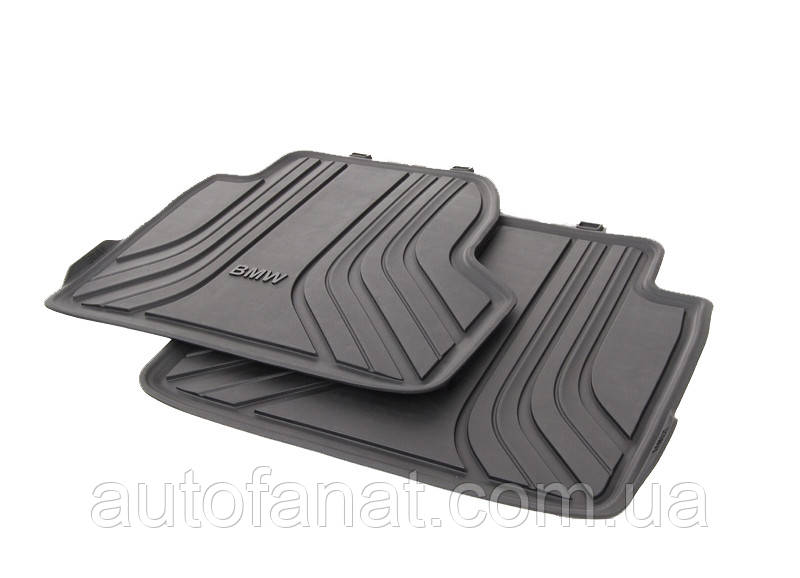 Оригинальные задние коврики салона BMW 4 (F32) (51472348158)