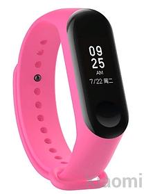 Силиконовый ремешок для Xiaomi Mi Band 3/4 Pink