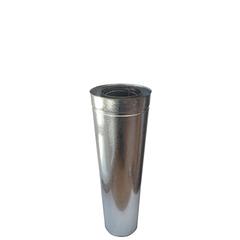 Трубы-сэндвич L=0,5 метра нержавейка/оцинковка