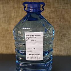 Вода дистиллированная H2O