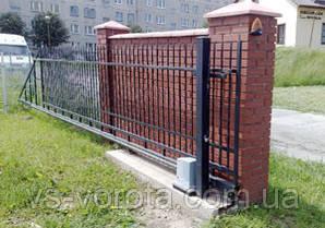 Автоматика для откатных ворот cо встроенным БУ Nice (RB 1000)