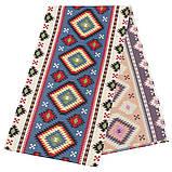 Скатерть гобеленовая, Карпатские узоры, 97х100 см, Эксклюзивные подарки, Столовый текстиль, фото 4
