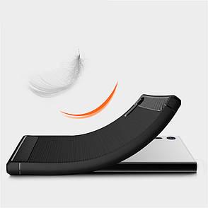 Чехол силиконовый TPU на Sony XZ темне синий, фото 2