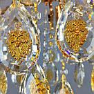 Люстра потолочная на четыре лампочки 3-E1269/4 хрустальная, фото 2