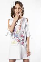 Платье To Be Too TF17050 Белое