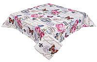 Скатерть гобеленовая с принтом, Винтаж, 137х180 см, Эксклюзивные подарки, Столовый текстиль, фото 1