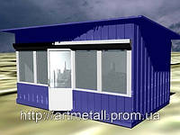 Мобильные здания, сборные и разборные конструкции, проектирование и установка